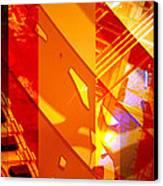 Merged - Arched Orange Canvas Print
