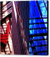 Merged - City Blues Canvas Print