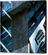 Merged - Tower Blues Canvas Print by Jon Berry OsoPorto