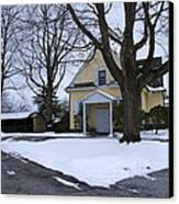 Merion Meeting House - Narberth Pa Canvas Print by Bill Cannon