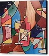 Merlot Canvas Print by Juan Molina