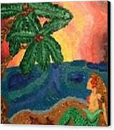 Mermaid Beach Canvas Print by Oasis Tone