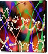 Merry Christmas Canvas Print by Karunita Kapoor