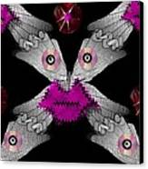 Meteoroid Creature  Coming From Comets And Androids Pop Art Canvas Print by Pepita Selles