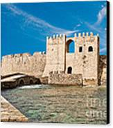 Methoni Venetian Fortress Canvas Print by Gabriela Insuratelu