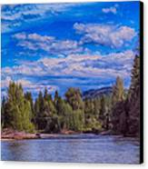 Methow River Crossing Canvas Print