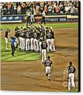 Mets Take Nl 2006 Canvas Print