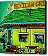 Mexican Grill Canvas Print by Chris Berry