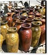 Mexican Pots I Canvas Print