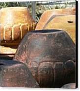 Mexican Pots Vi Canvas Print