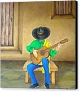Mexican Serenade Canvas Print by Pamela Allegretto