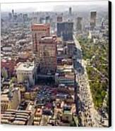Mexico City Cityscape Canvas Print by Jess Kraft
