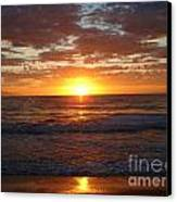 Mexico Sunset Canvas Print