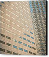 Miami Architecture Detail 1 Canvas Print by Ian Monk