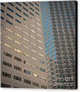 Miami Architecture Detail 2 - Square Crop Canvas Print by Ian Monk