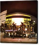 Miami Heat Aa Arena Canvas Print