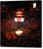 Miami Heat  Canvas Print by J Anthony