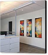 Miami Rythym Triptych Canvas Print by Sheila Elsea