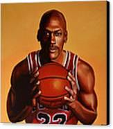 Michael Jordan 2 Canvas Print