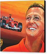Michael Schumacher 2 Canvas Print