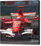 Michael Schumacher Canadian Grand Prix I Canvas Print