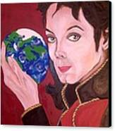 Michael's World Canvas Print by Lorinda Fore