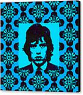 Mick Jagger Abstract Window P168 Canvas Print by Wingsdomain Art and Photography