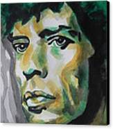 Mick Jagger Canvas Print by Chrisann Ellis