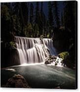 Middle Mccloud Falls Canvas Print