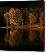 Midnight On The Lake Canvas Print
