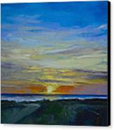 Midnight Sun Canvas Print by Michael Creese