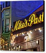 Mike's Pastry Shop - Boston Canvas Print by Joann Vitali