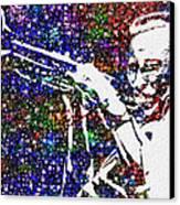 Miles Davis Canvas Print by Jack Zulli