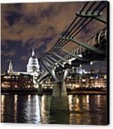 Millennium Bridge Canvas Print by Stephen Norris