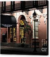 Mills House At Night Canvas Print by John Rizzuto