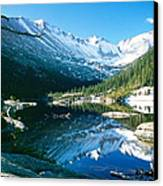 Mills Lake Canvas Print by Eric Glaser