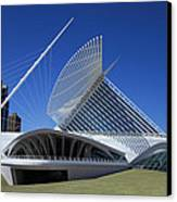 Milwaukee Art Museum - Calatrava Canvas Print by James Hammen