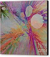 Mind Energy Aura Canvas Print by Deborah Benoit