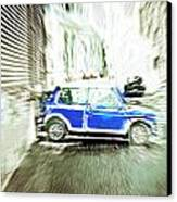 Mini Car Canvas Print by Tom Gowanlock