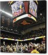 Minnesota Fans Celebrate Victory At Williams Arena Canvas Print
