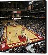 Minnesota Golden Gophers Williams Arena Canvas Print by Replay Photos