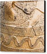 Minoan Jar Canvas Print by Luis Alvarenga