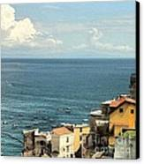 Minori By The Sea Canvas Print by H Hoffman