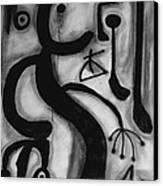 Miro Canvas Print by Andrea Vazquez-Davidson