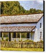 Miss Becky's House Canvas Print