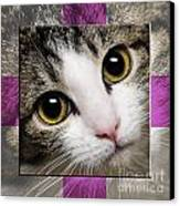 Miss Tilly The Gift 1 Canvas Print by Andee Design