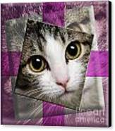 Miss Tilly The Gift 3 Canvas Print by Andee Design