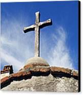 Mission Cross Canvas Print