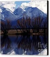 Mission Mountains Montana Canvas Print by Thomas R Fletcher
