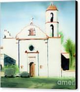 Mission San Luis Rey Dreamy Canvas Print by Kip DeVore